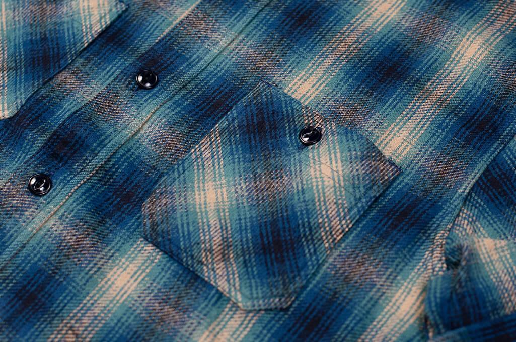 Sugar_Cane_Twill_Check_Flannel_Shirt_Cer