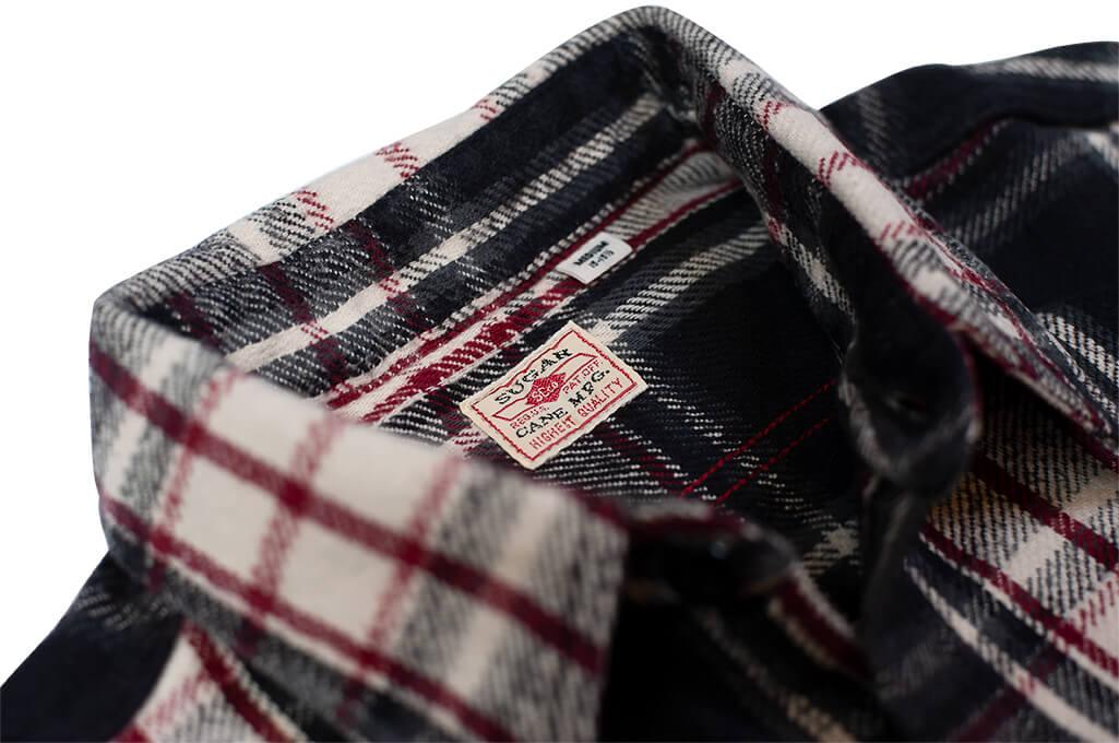 Sugar_Cane_Twill_Check_Flannel_Shirt_Sin