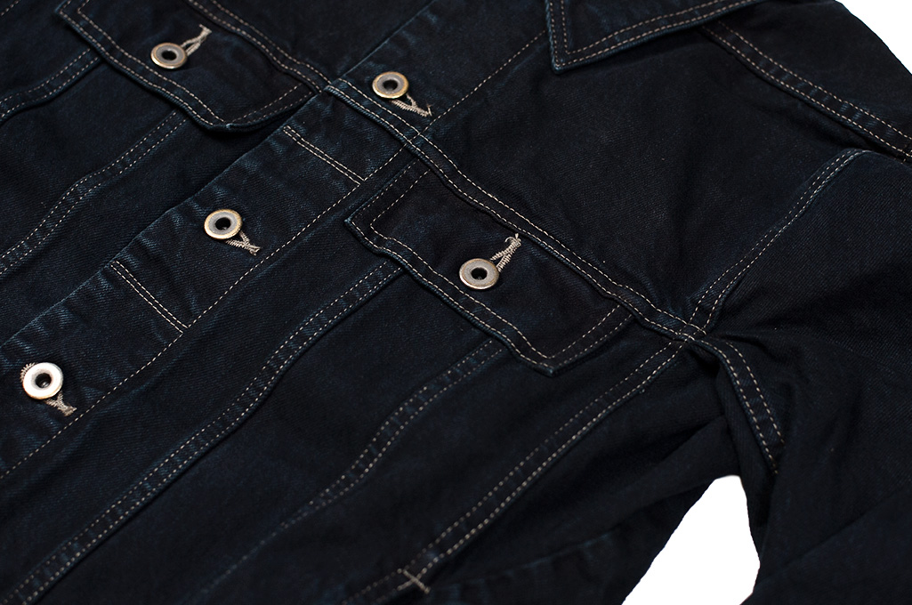 Rick Owens DRKSHDW Worker Jacket - Made in Japan Overdyed (Self Edge Exclusive) - Image 2