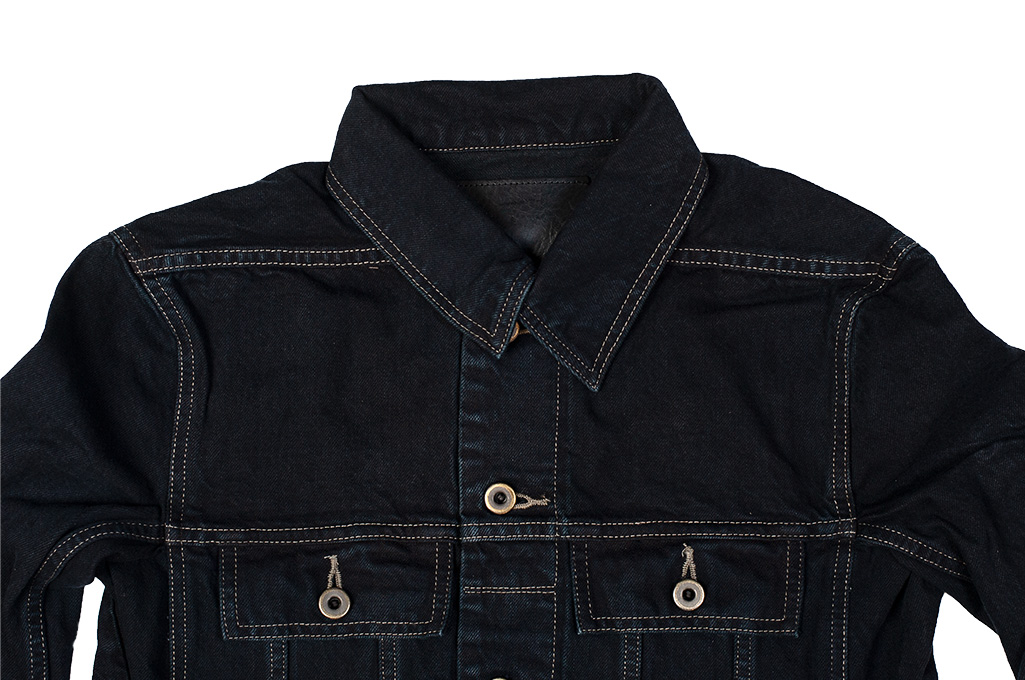 Rick Owens DRKSHDW Worker Jacket - Made in Japan Overdyed (Self Edge Exclusive) - Image 3