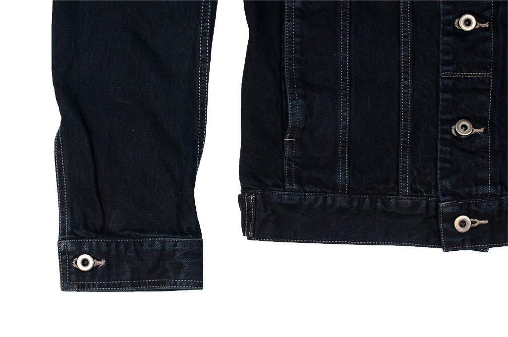 Rick Owens DRKSHDW Worker Jacket - Made in Japan Overdyed (Self Edge Exclusive) - Image 5