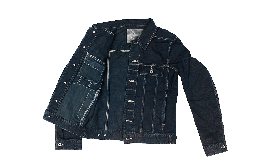 Rick Owens DRKSHDW Worker Jacket - Made in Japan Overdyed (Self Edge Exclusive) - Image 10