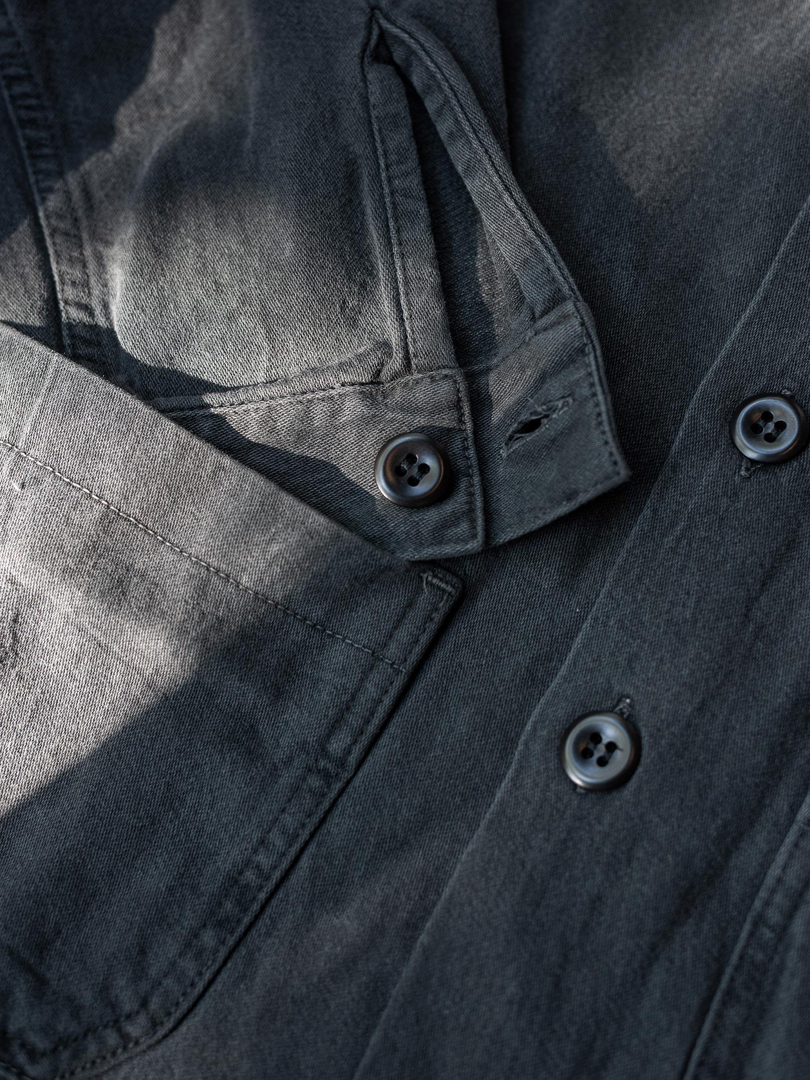 3sixteen Garment Dyed Shop Jacket - Smoke - Image 16
