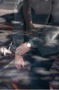3sixteen Garment Dyed Shop Jacket - Smoke - Image 19