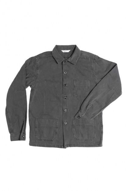 3sixteen Garment Dyed Shop Jacket - Smoke