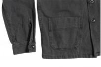 3sixteen Garment Dyed Shop Jacket - Smoke - Image 6