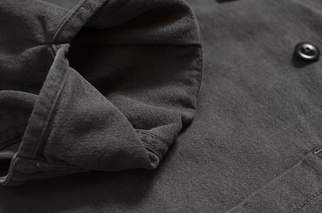 3sixteen Garment Dyed Shop Jacket - Smoke - Image 8