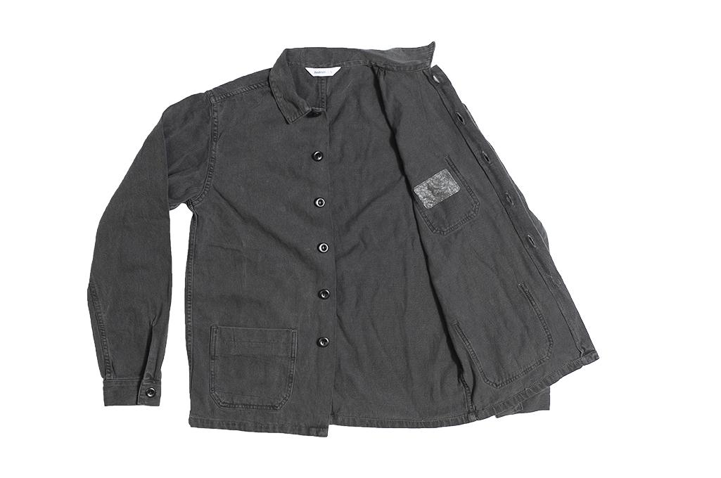 3sixteen Garment Dyed Shop Jacket - Smoke - Image 9