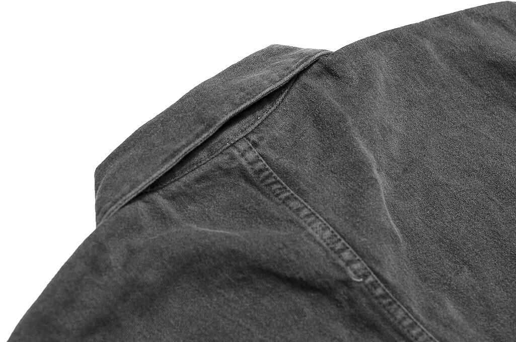 3sixteen Garment Dyed Shop Jacket - Smoke - Image 13