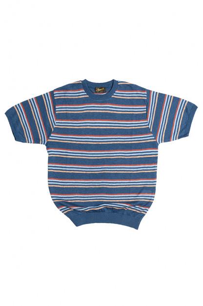 Stevenson Wrong Opinion Linen Shirt - Blue