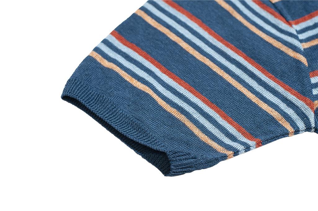 Stevenson Wrong Opinion Linen Shirt - Blue - Image 3