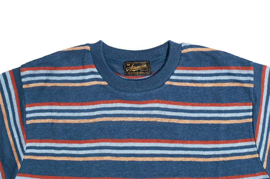Stevenson Wrong Opinion Linen Shirt - Blue - Image 4