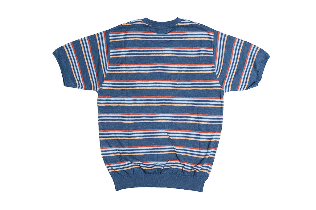 Stevenson Wrong Opinion Linen Shirt - Blue - Image 6