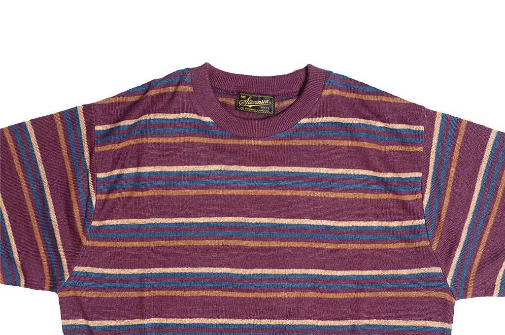 Stevenson Wrong Opinion Linen Shirt - Burgundy - Image 4