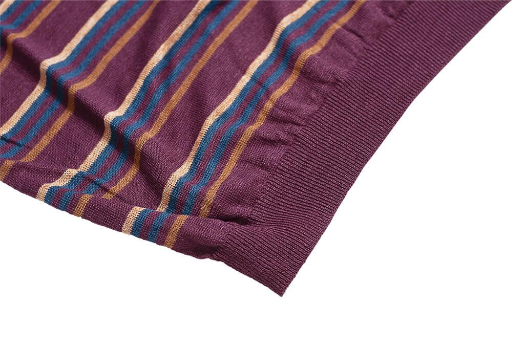 Stevenson Wrong Opinion Linen Shirt - Burgundy - Image 5