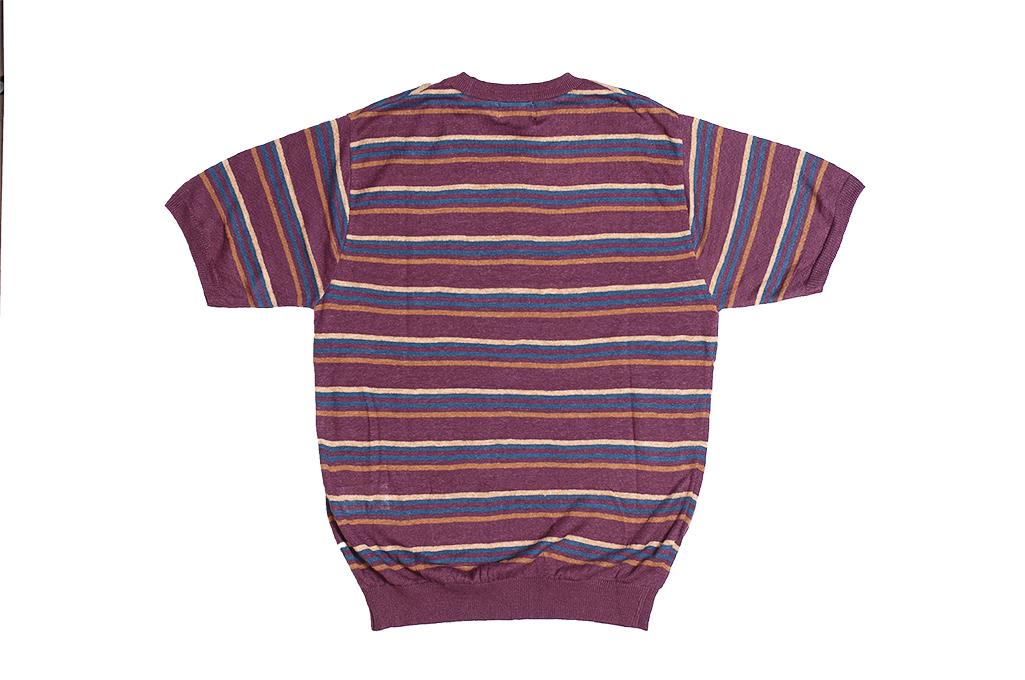 Stevenson Wrong Opinion Linen Shirt - Burgundy - Image 6