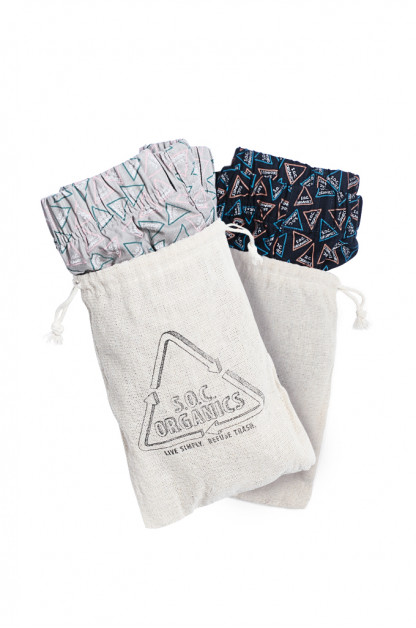 Stevenson Organic Basics Underwear Collection - Boxer Shorts