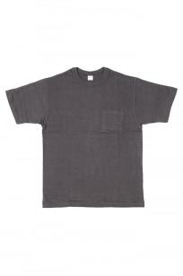 Warehouse Slub Cotton T-Shirt - Black w/ Pocket - Image 0
