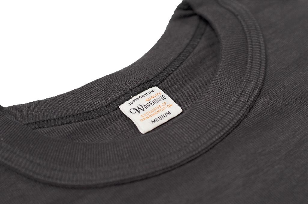Warehouse_Slub_Cotton_T_Shirt_Black_w_Po