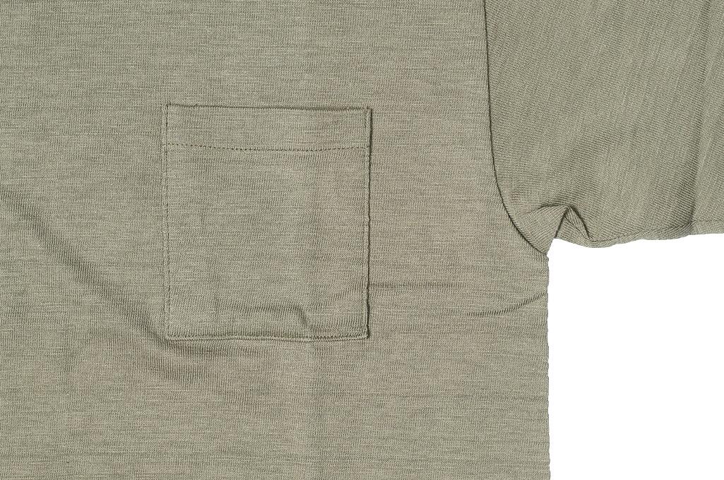 Warehouse_Slub_Cotton_T_Shirt_Dark_Olive