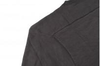 Warehouse Loopwheeled Footballer Tee - Black - Image 8