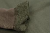 Buzz Rickson Flatlock Seam Crewneck Sweater - Olive - Image 8