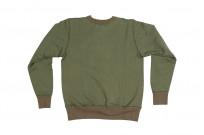 Buzz Rickson Flatlock Seam Crewneck Sweater - Olive - Image 10