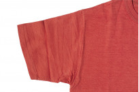 Warehouse Slub Cotton T-Shirt - Red w/ Pocket - Image 3