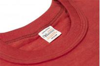 Warehouse Slub Cotton T-Shirt - Red w/ Pocket - Image 4