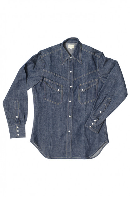 Warehouse Longhorn Denim Shirt