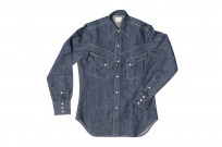 Warehouse Longhorn Denim Shirt - Image 7