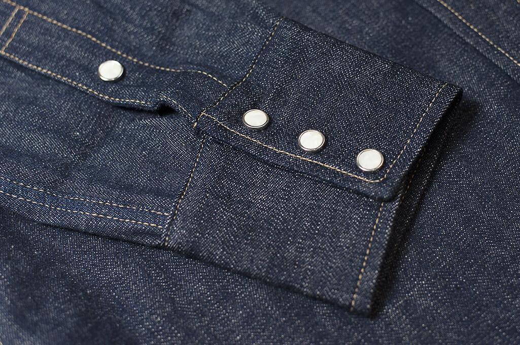 Warehouse Longhorn Denim Shirt - Image 10