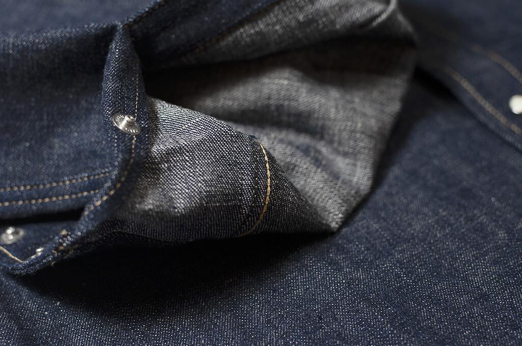 Warehouse Longhorn Denim Shirt - Image 11