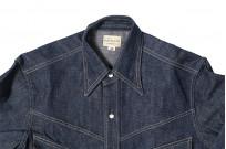 Warehouse Longhorn Denim Shirt - Image 12