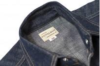Warehouse Longhorn Denim Shirt - Image 13