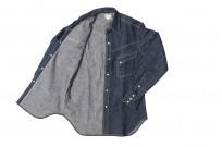 Warehouse Longhorn Denim Shirt - Image 14