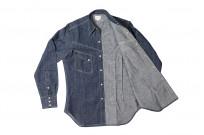 Warehouse Longhorn Denim Shirt - Image 15