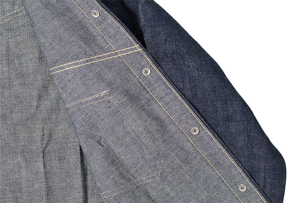 Warehouse Longhorn Denim Shirt - Image 16