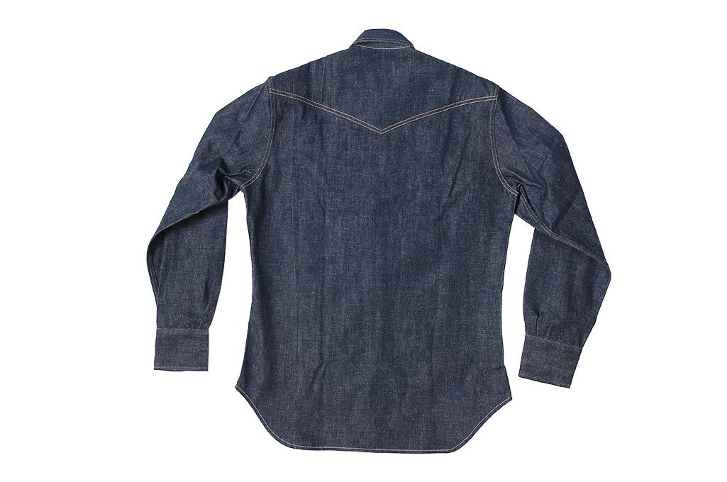 Warehouse Longhorn Denim Shirt - Image 17