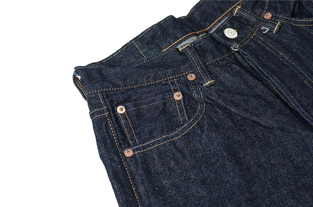 Warehouse Lot 800XX 14.5oz Jeans - Straight Leg Fit - Image 7