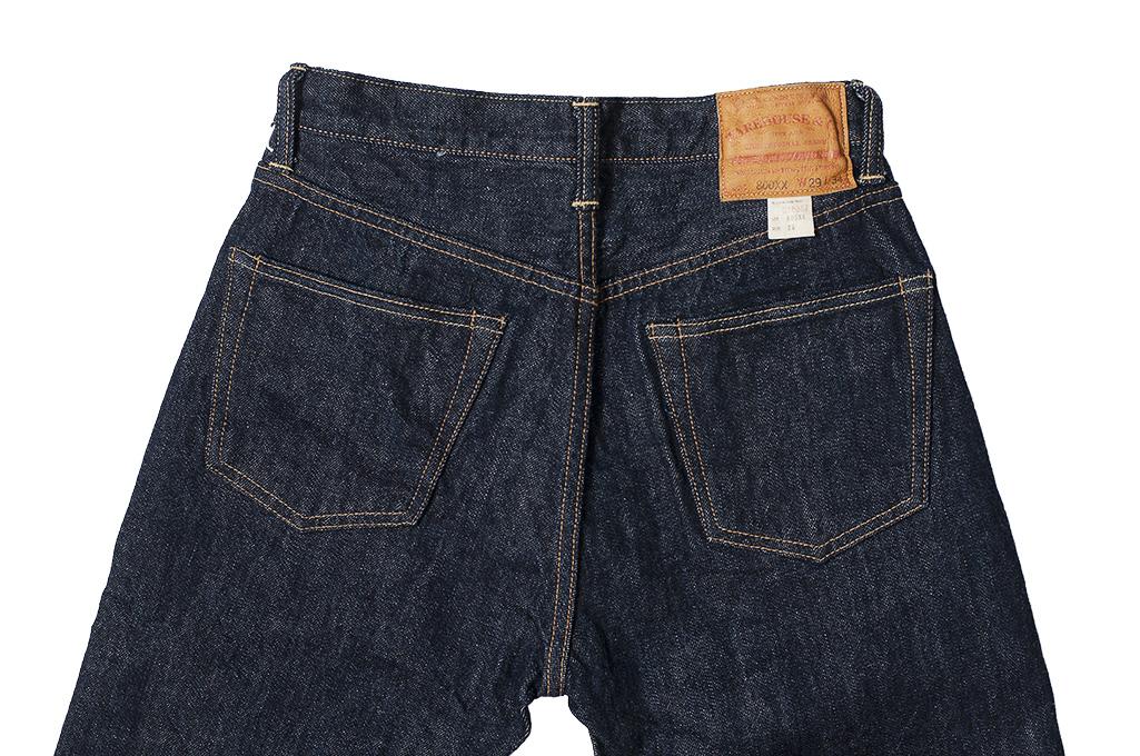 Warehouse Lot 800XX 14.5oz Jeans - Straight Leg Fit - Image 12