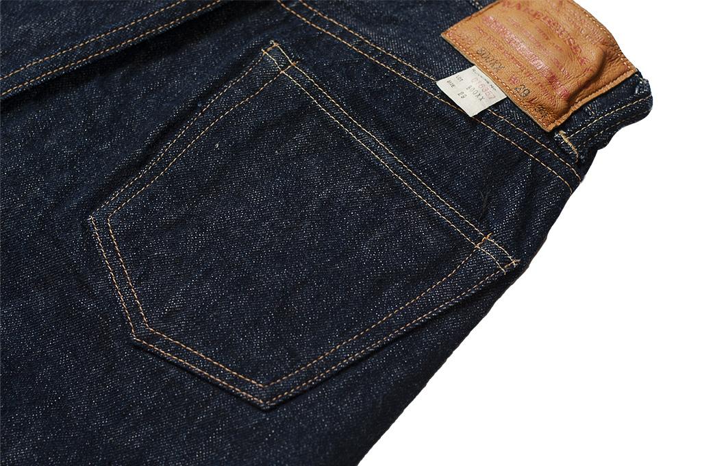 Warehouse Lot 800XX 14.5oz Jeans - Straight Leg Fit - Image 14