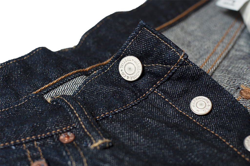 Warehouse Lot 900XX 13.5oz Jeans - Slim Tapered - Image 9
