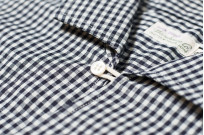 Warehouse Short Sleeve Buttoned Shirt - Fine Check Pattern - Image 3