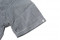 Warehouse Short Sleeve Buttoned Shirt - Fine Check Pattern - Image 5
