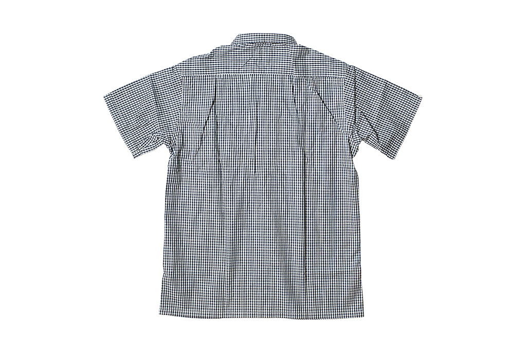 Warehouse Short Sleeve Buttoned Shirt - Fine Check Pattern - Image 8