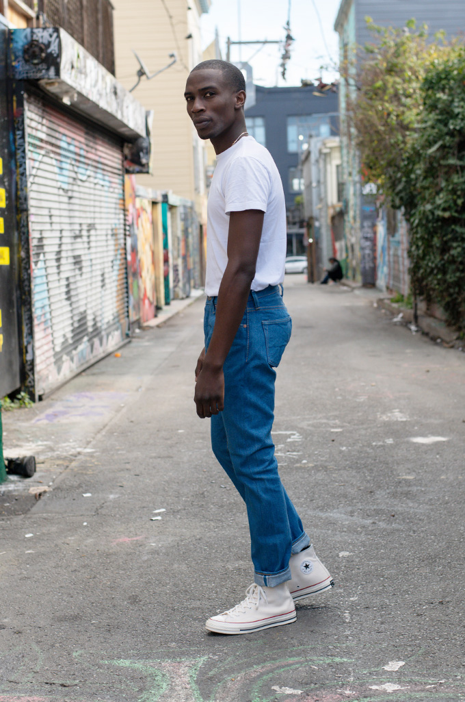 Pure Blue Japan BG-019 Blue Gray Denim Jeans - Straight Tapered - Image 2