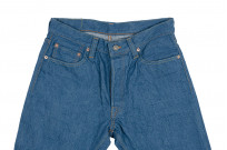 Pure Blue Japan BG-019 Blue Gray Denim Jeans - Straight Tapered - Image 7