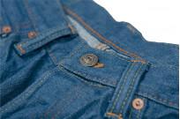 Pure Blue Japan BG-019 Blue Gray Denim Jeans - Straight Tapered - Image 9