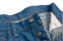 Pure Blue Japan BG-019 Blue Gray Denim Jeans - Straight Tapered - Image 11